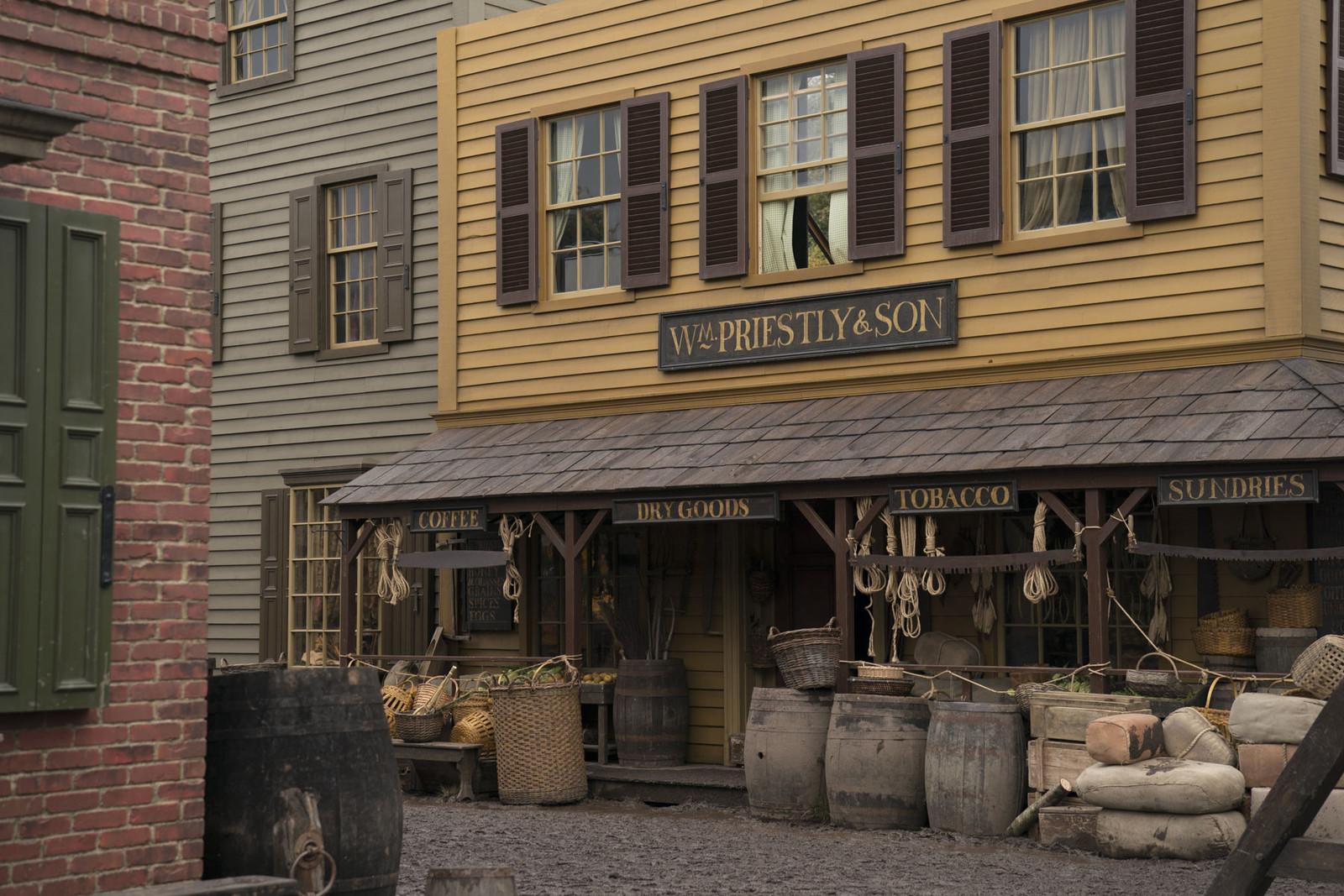 Outlander Location Building Wilmington Blacklanderz